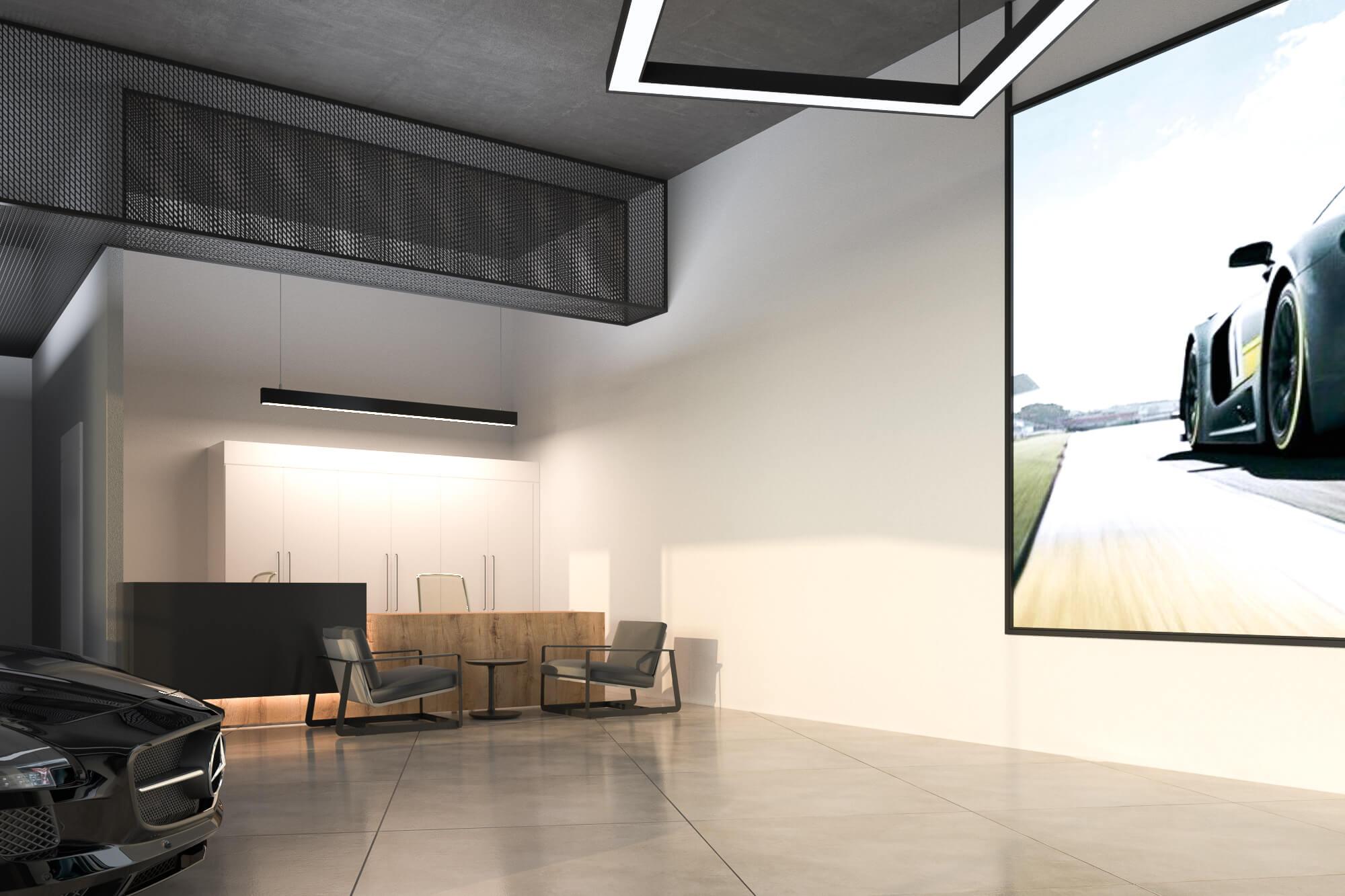 MOTUS Autocenter - Sicht auf Schreibtisch von Kundenbartung