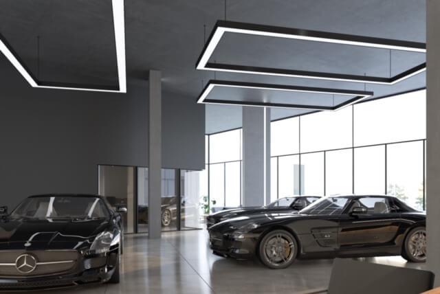 MOTUS Autocenter Wien Showroom